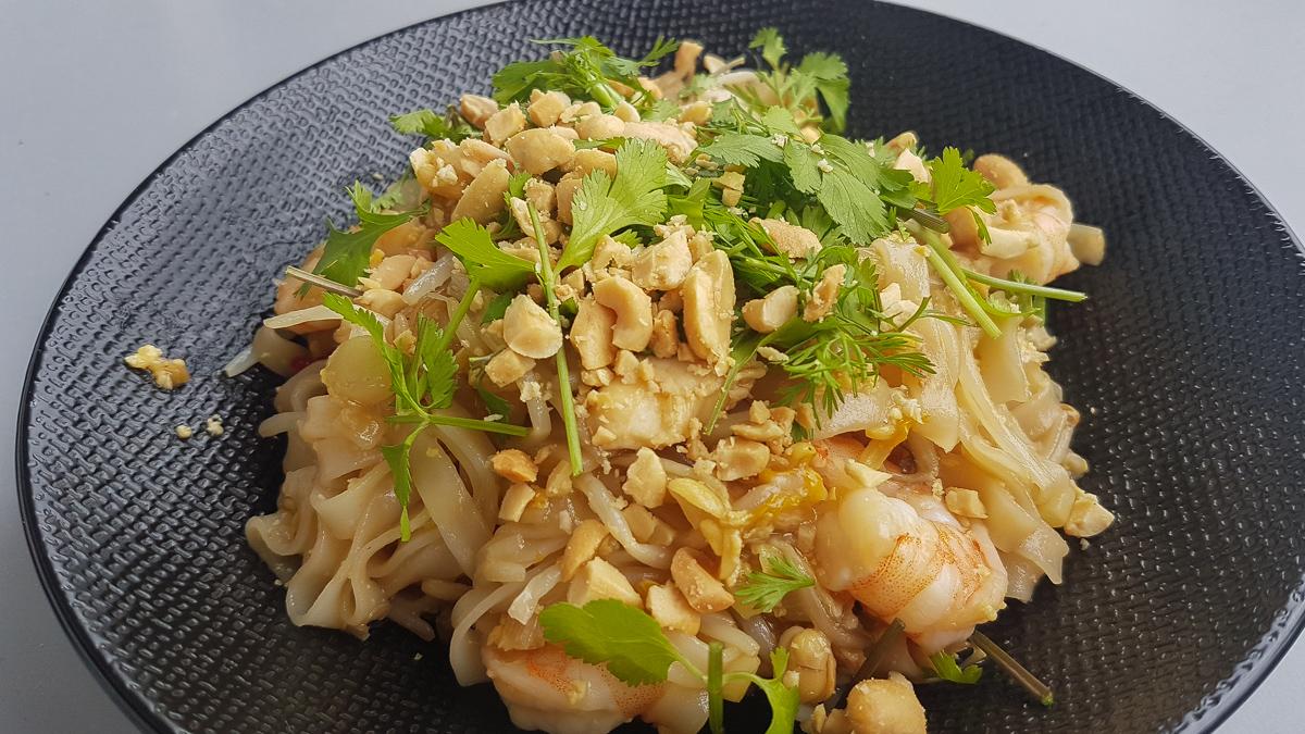 Pad tha madame chouquette cuisine et voyage - Julie cuisine le monde ...